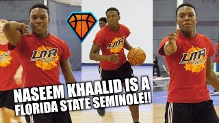 Download 2020 Naseem Khaalid is a FLORIDA STATE SEMINOLE!! | Best Sophomore PG in Florida?? Video