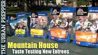 Download Mountain House Taste Testing (New Entrees) by TheUrbanPrepper Video