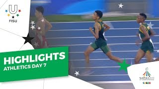 Download Highlights Day 7 I Athletics Track #Napoli2019 Video