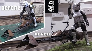 Download Scout Trooper Action Figure Custom Modification Video