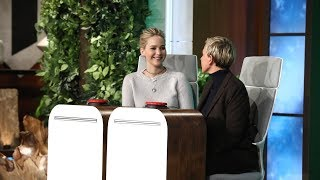Download Jennifer Lawrence Answers Ellen's 'Burning Questions' Video