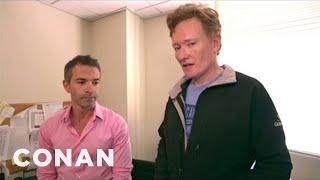 Download Conan Furloughs Non-Essential Staffers Video