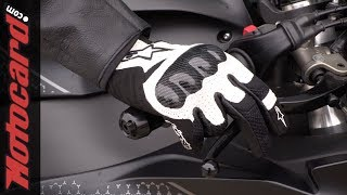 Download Alpinestars SMX-1 Air V2, ¡guantes de caña corta a buen precio! Video