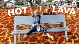 Download THE FLOOR IS LAVA AT A CARNIVAL!! Video