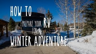Download RV Tip - Prepare the Outside of an RV for Freezing Winter Weather Video
