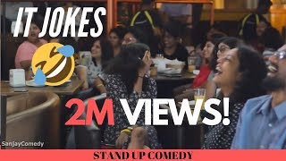 Download IT Industry Jokes | Stand up Comedy | Sanjay Manaktala Video
