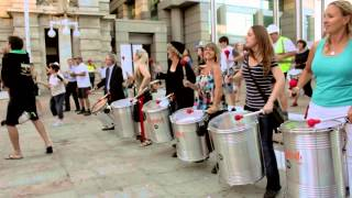 Download Wasamba Flash Mob - Forrest Chase Video