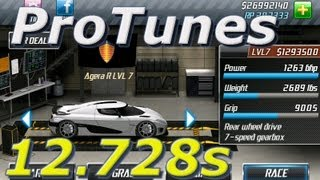 Download Drag Racing v1.6 Agera R 12.728 LVL 7 Video