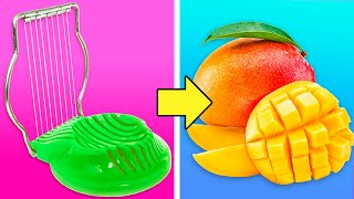 Download 35 UNEXPECTED HACKS FOR FRUITS AND VEGETABLES Video