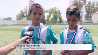 Download Soccer for Peace unites Jews and Arabs in Israel Video