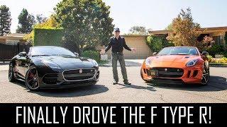 Download The Jaguar F-Type R is WILD! Video