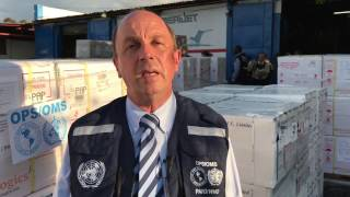 Download WHO: Oral cholera vaccines arrive to Haiti Video