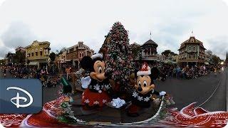 Download 360 Video: A Christmas Fantasy Parade | Disneyland Resort Video