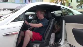 Download Gustav demonstrates a custom Rolls Royce Wraith during Gumball 3000 Miami to Ibiza 2014 Video