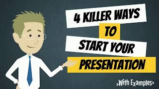 Download 4 Killer Ways to Start Your Presentation or Speech | How to Start a Presentation | Public Speaking Video