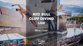 Download Gone diving! | Red Bull Cliff Diving World Series 2018 LIVE - Bilbao, Spain Video