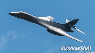 Download B-1B Lancer Flybys and Arrival - EAA AirVenture Oshkosh 2017 Video
