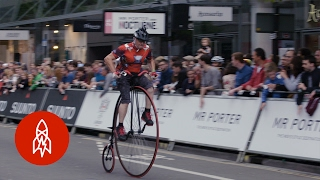 Download Penny Farthing Racing is Still a Thing Video