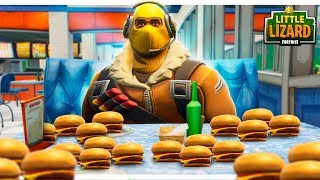 Download RAPTOR GETS FAT OFF DURR BURGERS! - FORTNITE SHORT FILMS Video