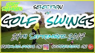 Download GOLF SWINGS SELECTION 24TH SEPT | 2PUTT SHANKUR Video