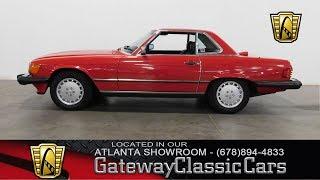 Download 1987 Mercedes Benz 560SL - Gateway Classic Cars of Atlanta #440 Video