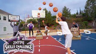 Download INSANE BASKETBALL OBSTACLE COURSE NBA SKILLS CHALLENGE!! Video