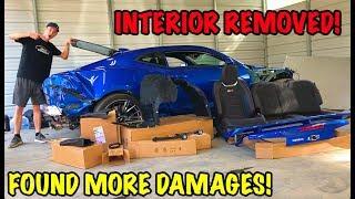Download Rebuilding A Wrecked 2018 Camaro ZL1 Part 7 Video