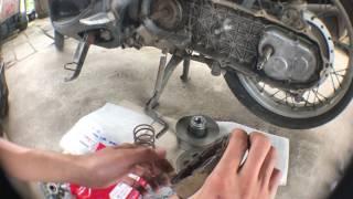 Download แก้อาการรถออโตเมติกออกตัวสั่น มีโอ นูโว ฟีโน่ PCX125,150 Video