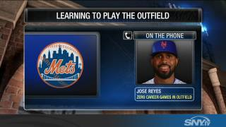 Download Jose Reyes talks about playing all over the field for the 2017 Mets Video