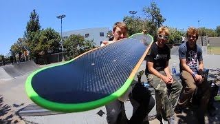 Download CAN WE BREAK THE CARBON FIBER BOARD? (EXTREMELY DIFFICULT) Video