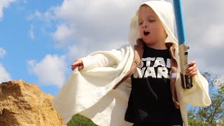 Download Father & Son REENACT STAR WARS! Video