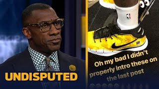 Download Skip and Shannon react to LeBron wearing a pair of Kobe shoes | NBA | UNDISPUTED Video