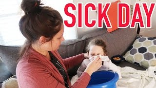 Download SICK DAY ROUTINE! 3 KIDS WITH THE FLU :( Video