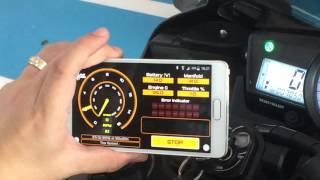 Download Yamaha R15 กล่อง Tune Boss สำหรับมอเตอร์ไซด์ จูนบนมือถือได้ Video
