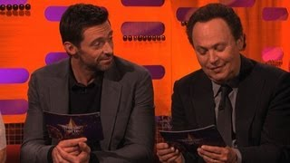 Download Hugh and Billy try some baking innuendos - The Graham Norton Show - New Year's Eve 2012 - BBC One Video