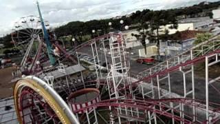 Download Montanha Russa do Park Tupã em Curitiba em 2012 Video