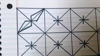 Download رسم زخرفة تشبه شعيرات البوصلة رقم 39 Video