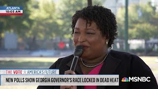 Download Stacey Abrams: I Want Every Georgian To Understand Their Voices Matter | AM Joy | MSNBC Video