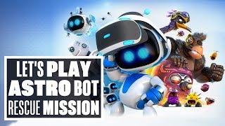 Download Let's Play Astro Bot Rescue Mission - A PERFECT PSVR PLATFORMER! Video