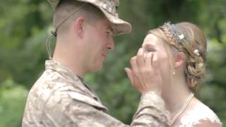 Download Marine Surpises his sister on her wedding day Video