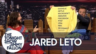 Download Jared Leto Brings Jimmy Soft and Cuddly Thirty Seconds to Mars ″America″ Album Merch Video