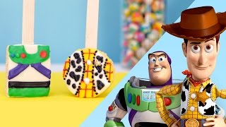 Download Toy Story Inspired Rice Crispy Pops | Disney Family Video