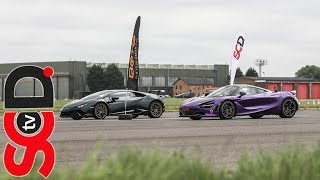 Download McLaren 720S v Huracan Performante | BOTB Drag Race Video