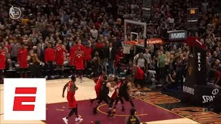Download LeBron James buzzer-beater closes out Game 3 of Raptors vs. Cavaliers | ESPN Video