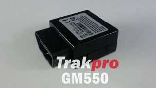 Download Trakpro GM550 Plug & Play OBDII Tracking Device Video