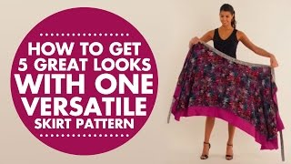 Download Wrap, Twist & Tie: How to Get 5 Great Looks with One Versatile Skirt Pattern Video