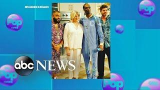 Download Snoop Dogg, Martha Stewart Pajama Party With DJ Khaled, Robin Thicke Video