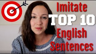 Download How to Pronounce TOP 10 English Sentences Video
