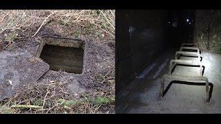 Download Secret forest door opened ,, and underground bunker. Video
