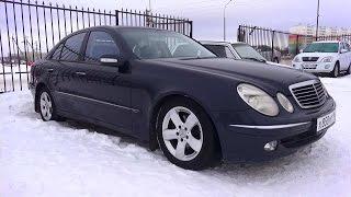 Download 2003 Мерседес-Бенц Е260. Обзор (интерьер, экстерьер, двигатель). Video